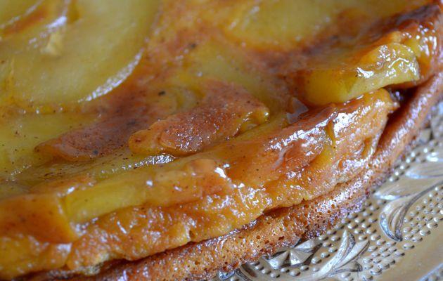 Clafoutis de pommes à la cannelle