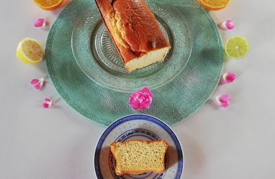 Cake light aux agrumes