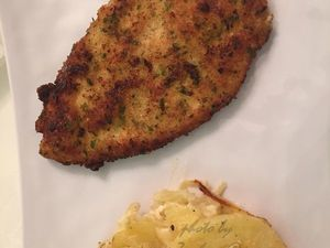ESCALOPES MILANAISE POULET, CHICKEN MILANESE