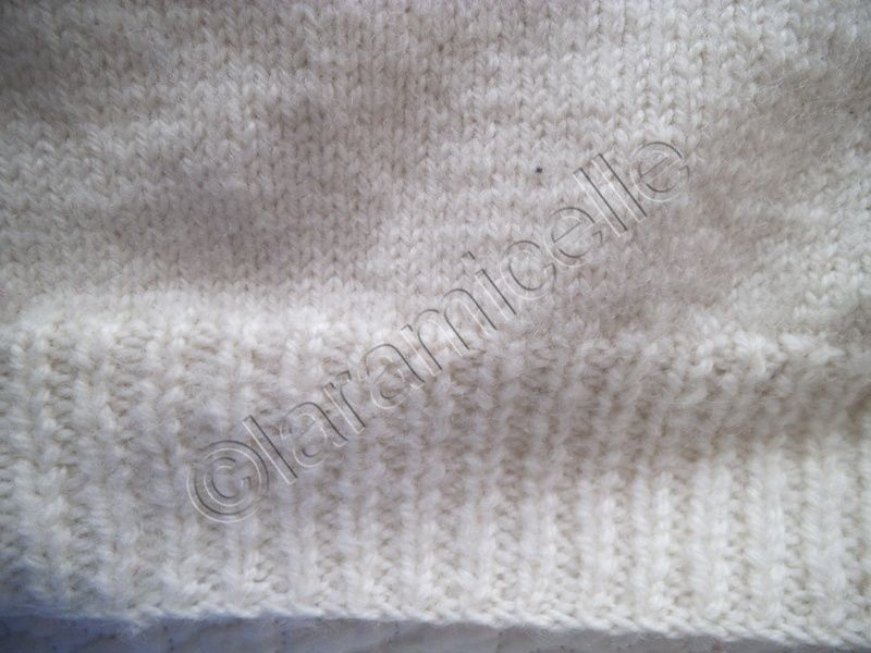 tutos gratuits : allonger un tricot par le bas de façon INVISIBLE