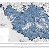 Carte de France de la couverture TNT - Chroniques Cartographiques