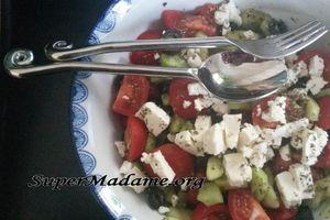 La salade grecque : sublime dans son plus simple appareil