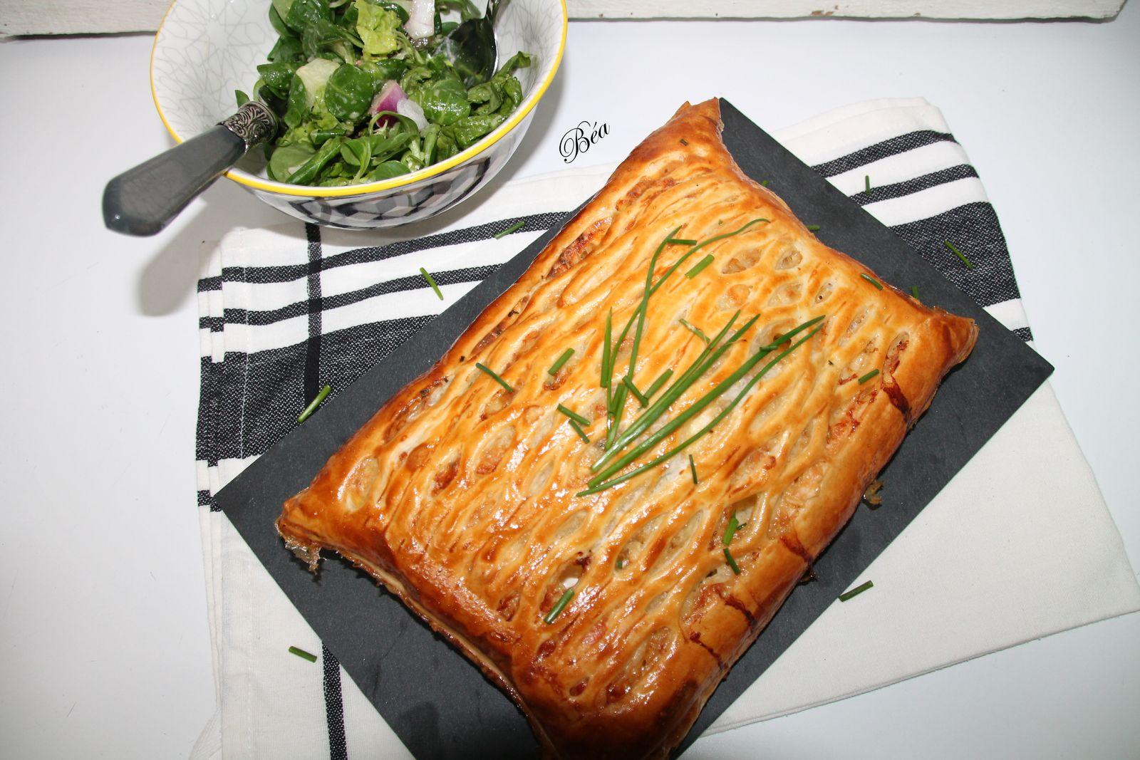 Tarte treillis aux fromages