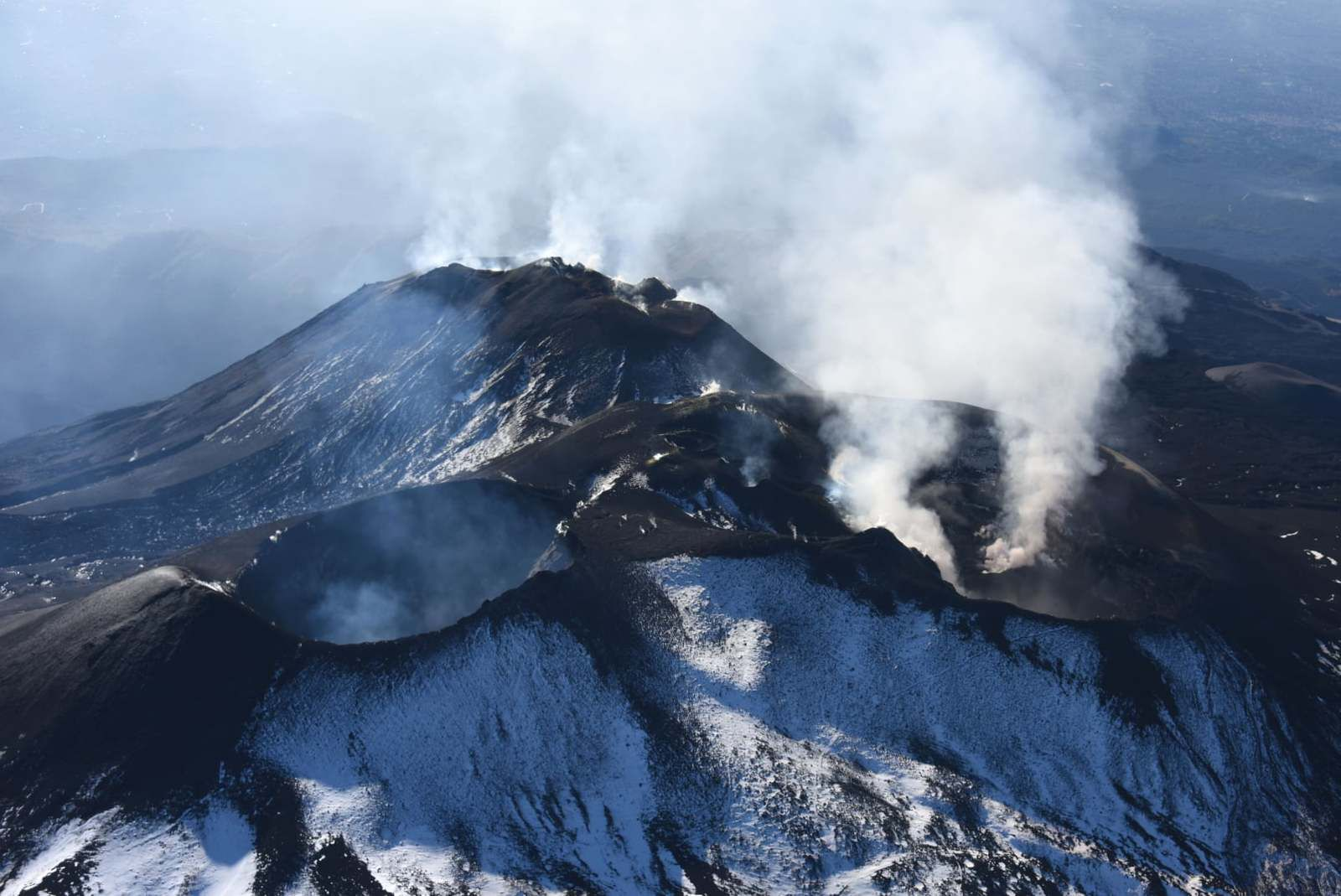 Etna - summit craters - photo by Stefano Branca 23.10.2020 / INGV