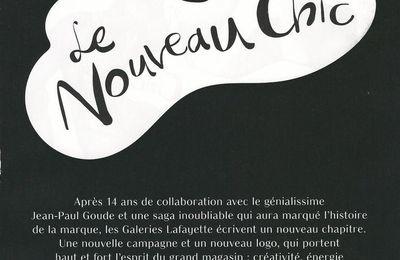 Le Nouveau Chic et le renouveau des Galeries Lafayette