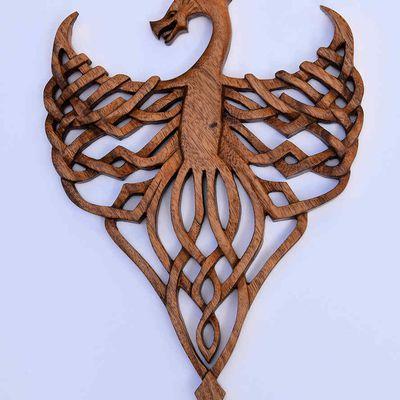 Sculpture d'un Dragon
