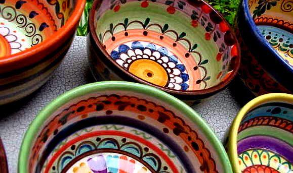 Cuencos Conjunto de estilo mexicano