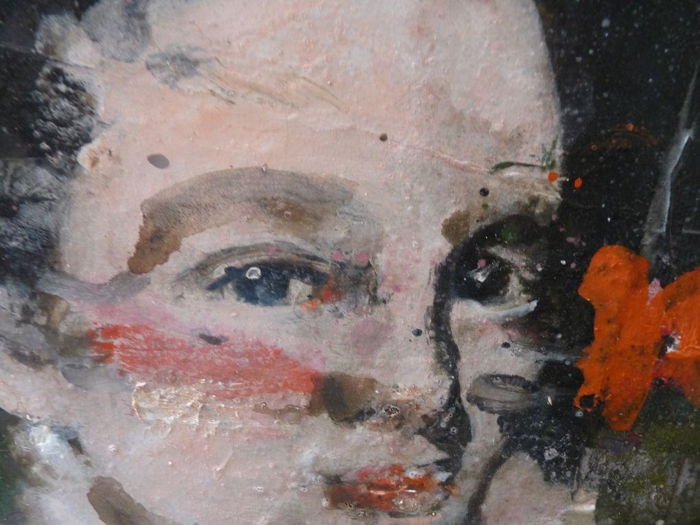 Catherine Aers donne à découvrir les oeuvres de Charlotte de Maupeou, artiste attachante.