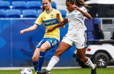 Brondby / Lyon (UEFA Women's Champions League) en direct et en clair mercredi