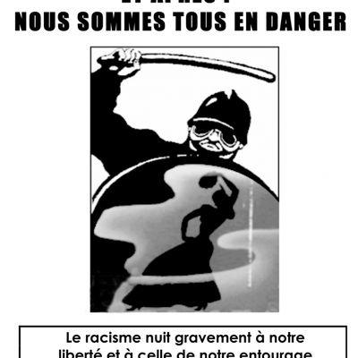Affiche : Nous sommes tous en danger !