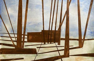 Peintures en cours de réalisation : N°255