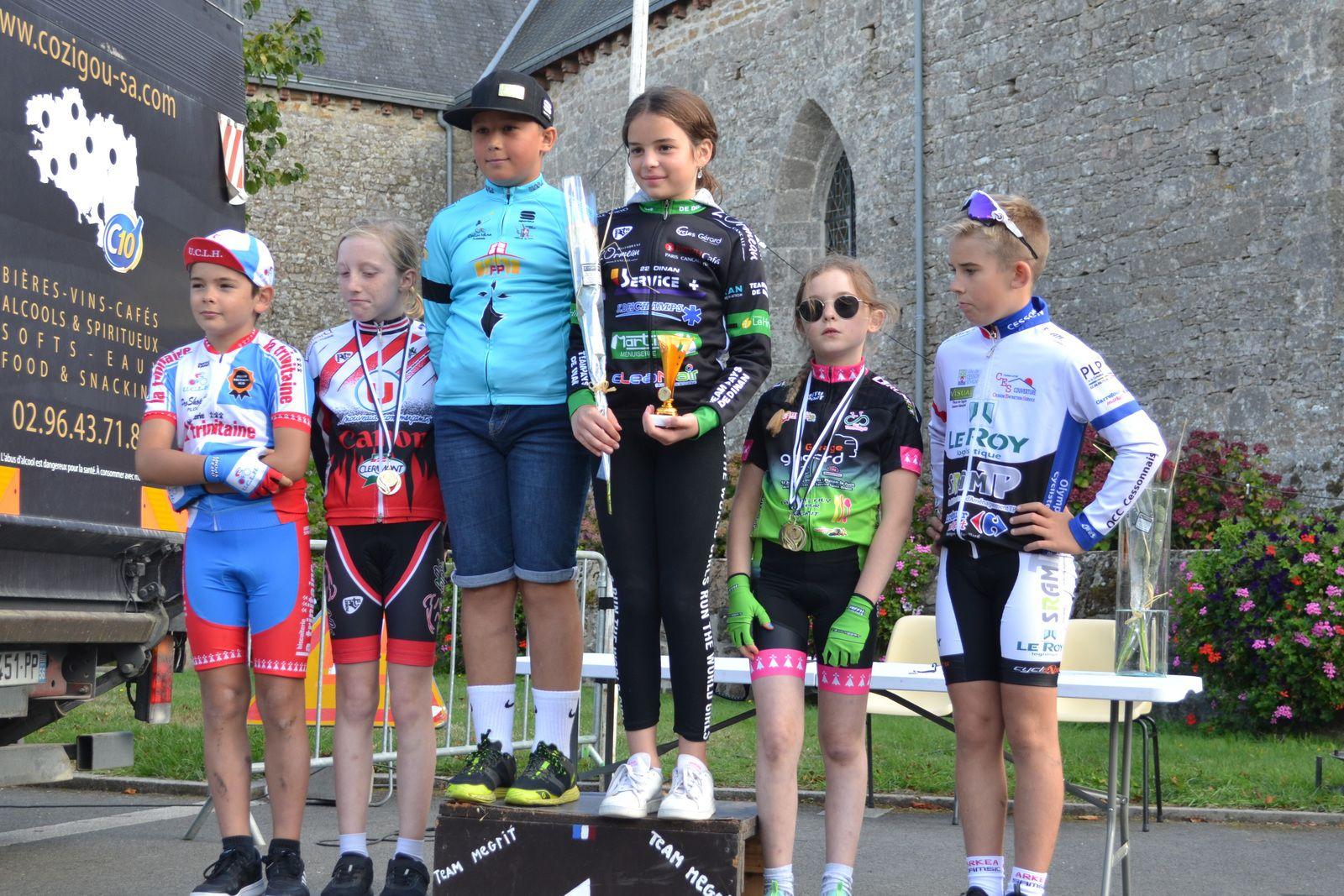 Ecole de Cyclisme: courses de Mégrit (22): 5 Septembre 2020