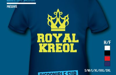 T-shirt: France - Guadeloupe - Royal Kreol.