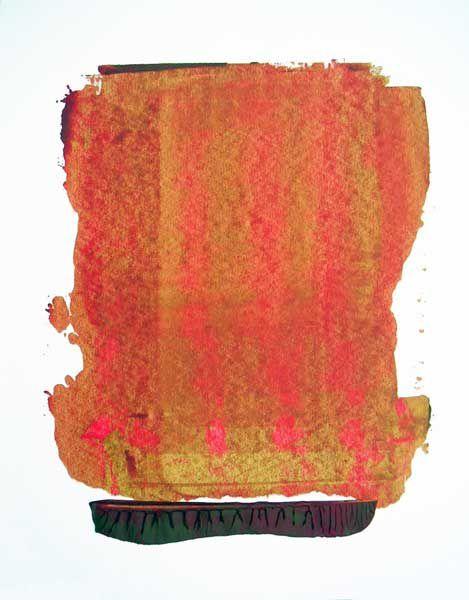 Cette peinture que je compare aux haïkus : concision, justesse, poésie...