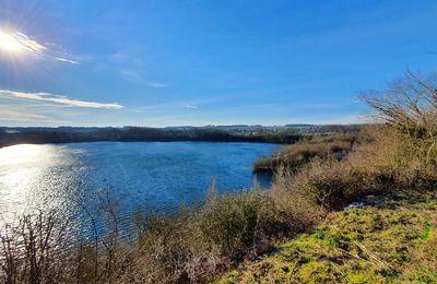 14 février 2021 - Autour du Lac Bleu, à Roeux
