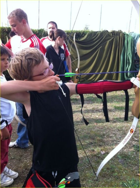 La Section tir à l'Arc à la Journée Des Sports de Châtellerault.