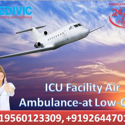 Medivic Aviation Air Ambulance Expedite Service in Patna & Delhi