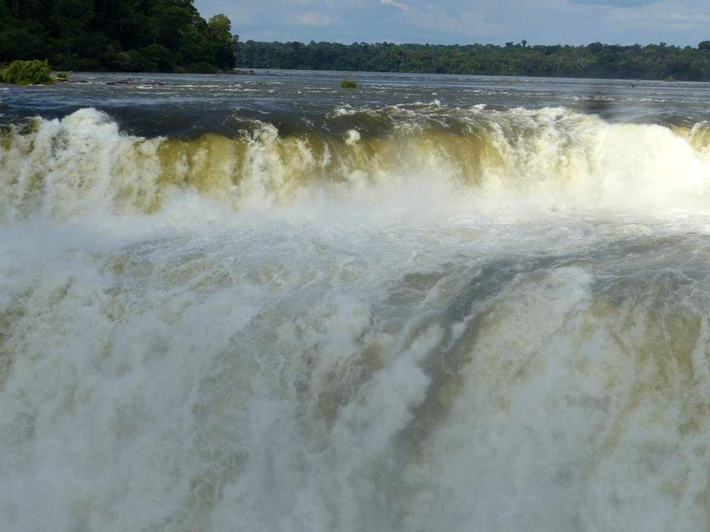 Iguazù - Que d'eau ! Que d'eau !