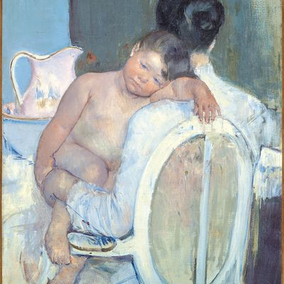 Marie Cassatt what the kiff !