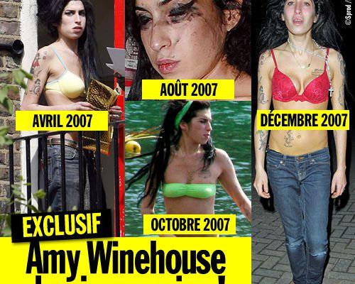 EXCLUSIF / Amy Winehouse de pire en pire !