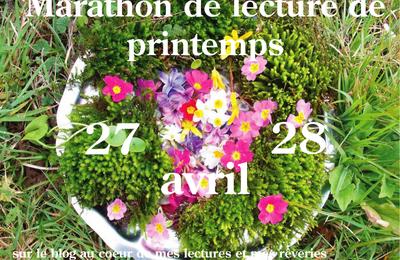 1er mai - le jour du marathon...de lecture !
