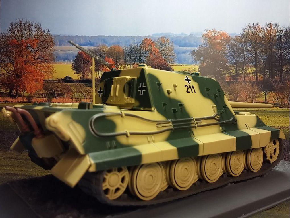 Panzerjager Tiger Ausf.B au 1/43 (Altaya/Ixo)