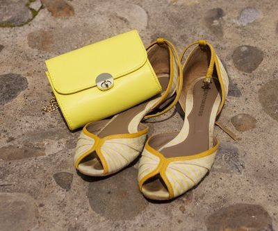A touch of yellow...