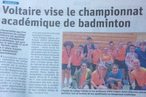 Article Vaucluse matin