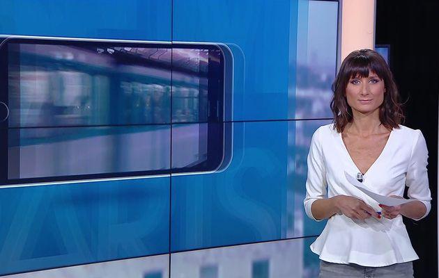 📸9 AURELIE BLONDE pour BONJOUR PARIS @JohannaCarlosD8 @BFMParis ce matin #vuesalatele