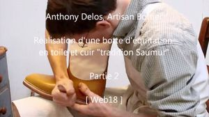 Anthony Delos, artisan Bottier