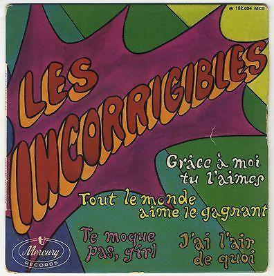 les incorrigibles, un groupe psychédélique, funk, soul, pop, mod de cette période effrénée des années 1960