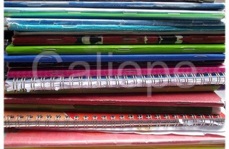 Pile de cahiers