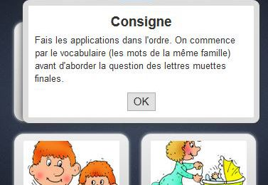 Exercices interactifs - Orthographe