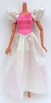 """""""MY FIRST"""" BARBIE DOLL CLOTHES 1989 MATTEL #9942"""
