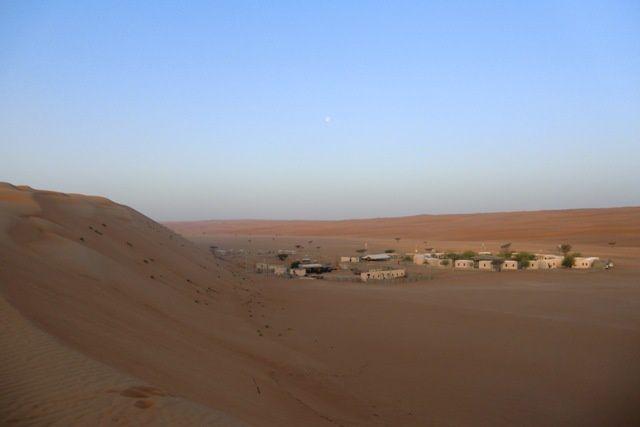 Arrivée à Mascate, et 2 jours dans le désert