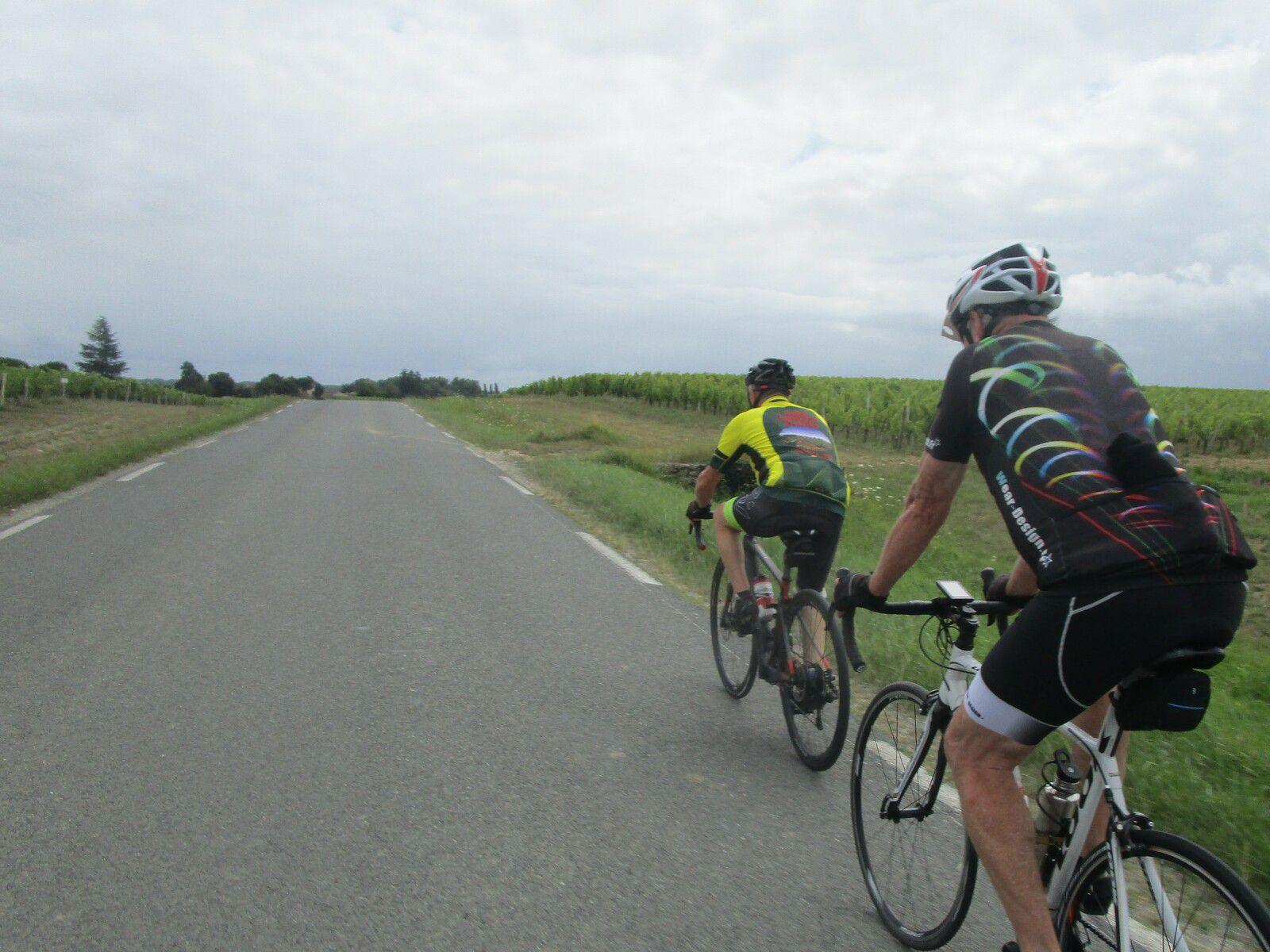 En passant du VTT au vélo route