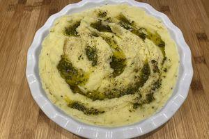 Purée à l'huile d'olive aromatisée de Yotam Ottolenghi
