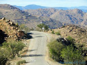 R107 Tiznit-Tafraoute (Maroc en camping-car)