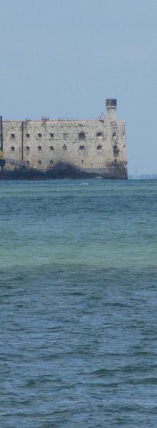 Fort-Boyard vu de l'Ile d'Oléron...