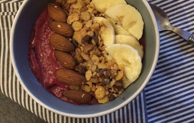 Smoothie Bowl au Thermomix - 4 sp Weightwatchers