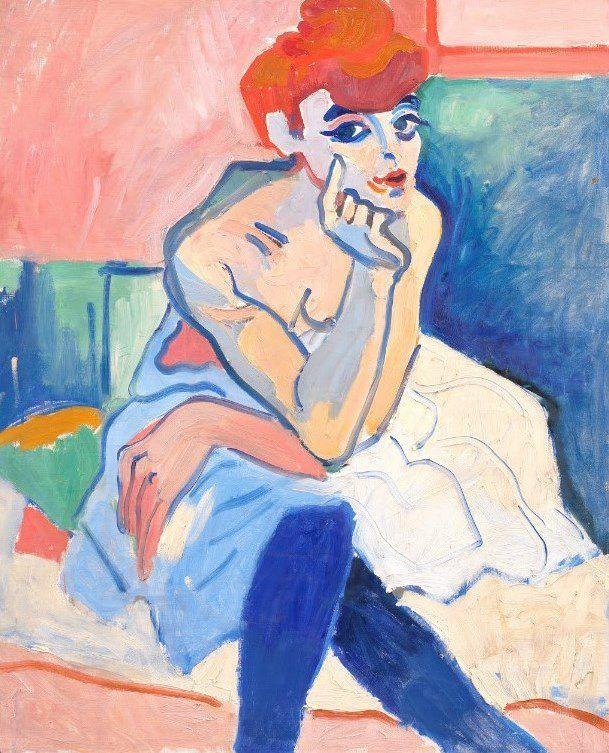 Femme en chemise - André Derain