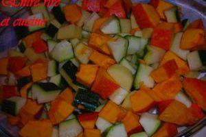 Tian de légumes du jardin aux tomates au parmesan... une valeur sûre