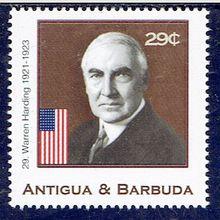 Warren G. Harding, 29ème Président des Etats-Unis
