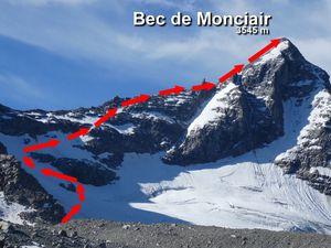 Topo Bec de Monciair