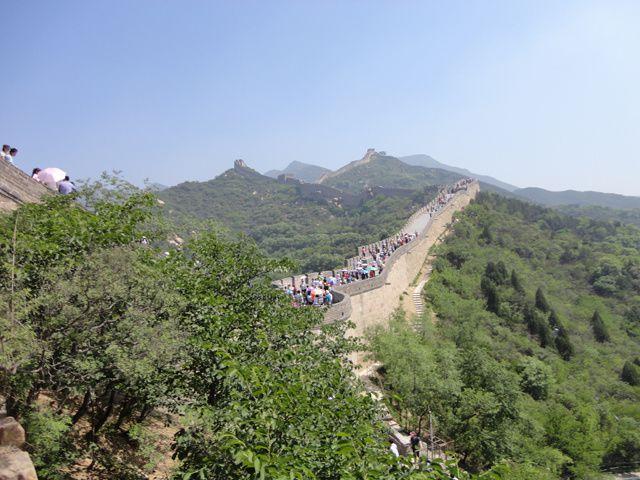 la Grande Muraille de Jinshanling à Simatai... mais aussi Badaling