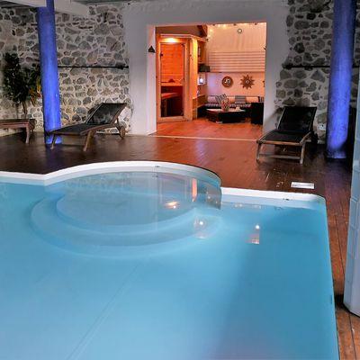 Location espace piscine et sauna à la journée