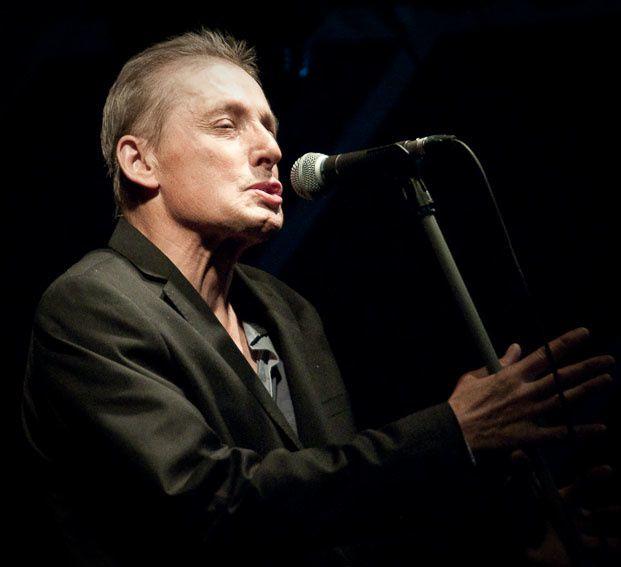 Allain Leprest, en concert à Ivry, en juillet 2009.