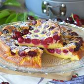 Clafoutis aux cerises... puisque c'est la saison - Le blog de C'est Nathalie qui cuisine