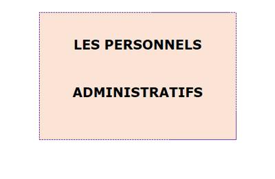 Personnel administratif
