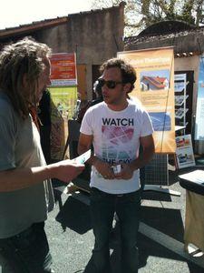Action locale d'information sur les Chemtrails !